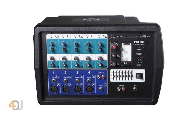 Wharfedale PMX 500 Portable Powered Mixer