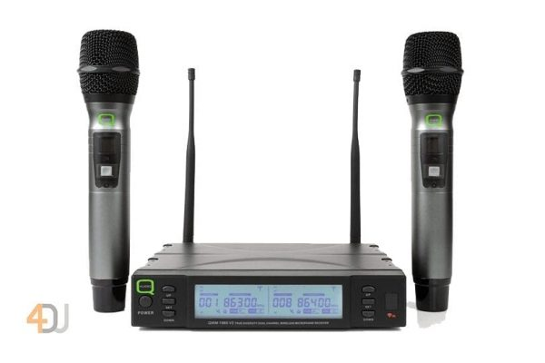 Q-Audio QWM 1960 HH UHF wireless microphone system