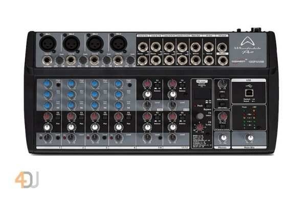 Wharfedale Connect 1202FX / USB Mixing Desk