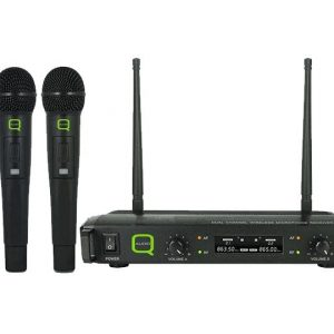 Q-Audio QWM 1932 V2 HH Twin Microphone System