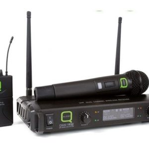 Q-Audio QWM 1932 V2 HH + BP Wireless Microphone