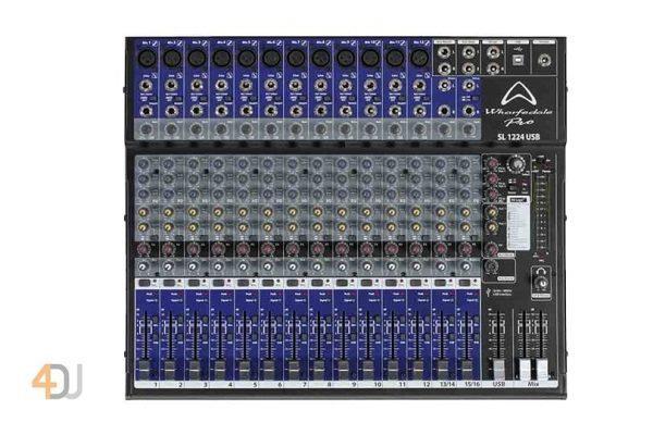 Wharfedale SL1224USB 16 Channel USB Mixer