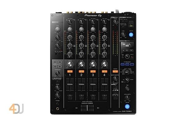 Pioneer DJM-750 Mk2 Professional 4-channel Mixer