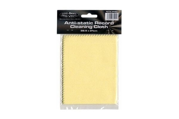 Acc-Sees Pro Vinyl Antistatic Record Cleaning Cloth APV021