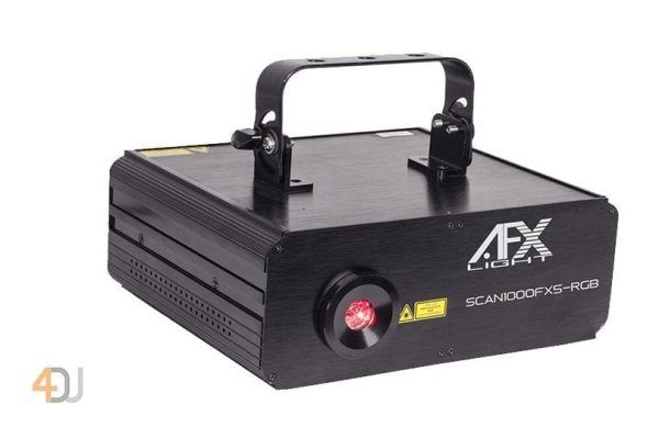 AFX SCAN1000FX5-RGB 1000mW Animation Laser