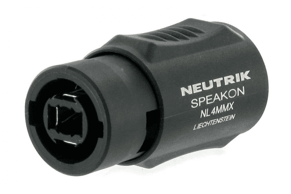 Neutrik Speakon NL4MMX 4 Pole Cable Coupler