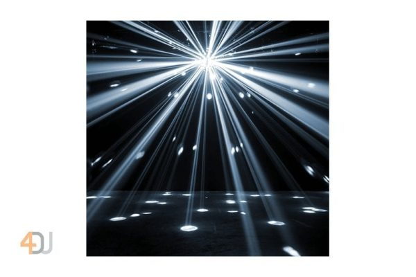ADJ Starburst RGBWA+UV LED Mirror Ball Effect