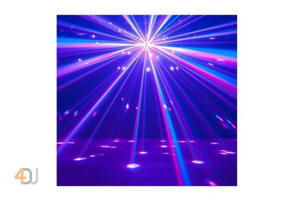 ADJ Starburst RGBWA+UV LED Mirror Ball Effect