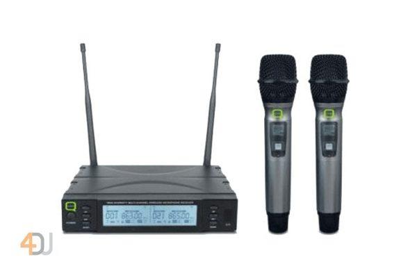 Q-Audio QWM 1960 HH UHF wireless microphone system