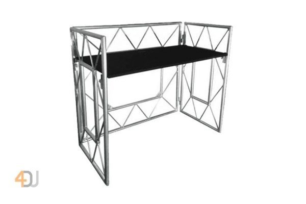 Equinox Truss Booth System Foldable Mobile DJ Stand