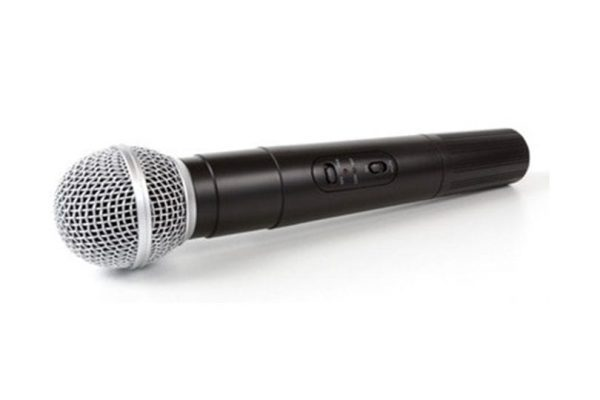 Q-Audio QWM 11 Dual Handheld VHF Microphone