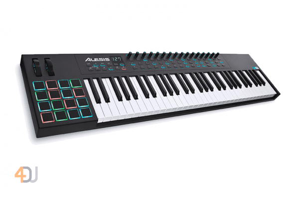 Alesis VI61 61-Key Keyboard Controller with 16 Pads