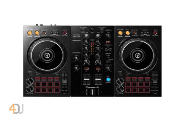 Pioneer DDJ-400 DJ Controller with Rekordbox DJ Software
