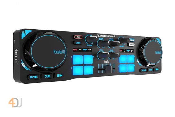 Hercules DJ Compact 2 Channels DJUCED DJ Controller