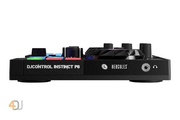 Hercules DJControl Instinct P8 Ultra-Mobile USB DJ Controller