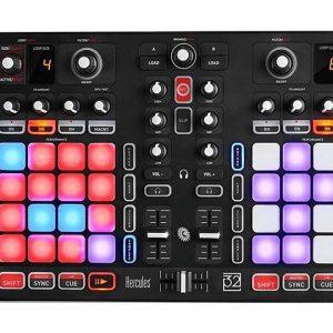 Hercules P32 DJ Unique dual deck USB controller