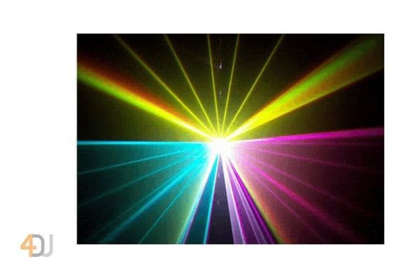 Ibiza Light RGB Laser Effect with Animation