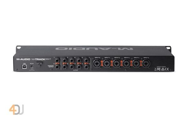 M-Audio M-Track Eight Professional High-Resolution 8-Channel USB Soundcard