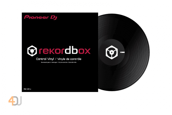 Pioneer RB-VS1-K Black Rekordbox DVS Control Vinyl (Single)