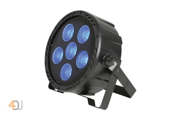 QTX High Power Multi-Coloured 4-In-1 LED PAR Can