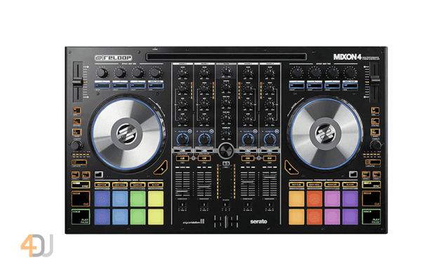 Reloop Mixon 4 DJ Controller for Serato DJ & djay PRO
