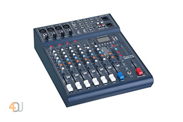 Studiomaster Club XS 8 Compact Analog Mixer with Bluetooth