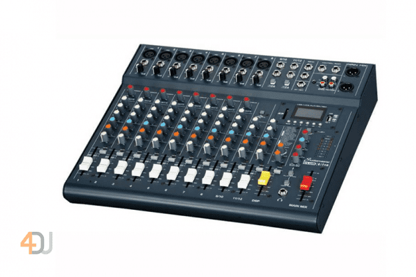 Studiomaster Club XS 12 Compact Analog Mixer with Bluetooth