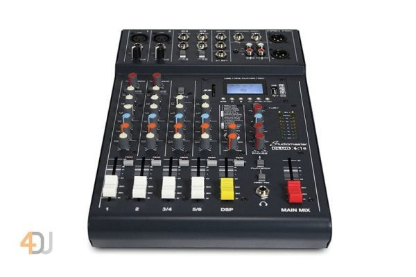 Studiomaster Club XS 6 Compact Analog Mixer with Bluetooth