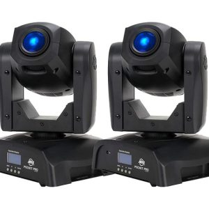 ADJ Pocket Pro 25W LED Moving-Head Spot Pair