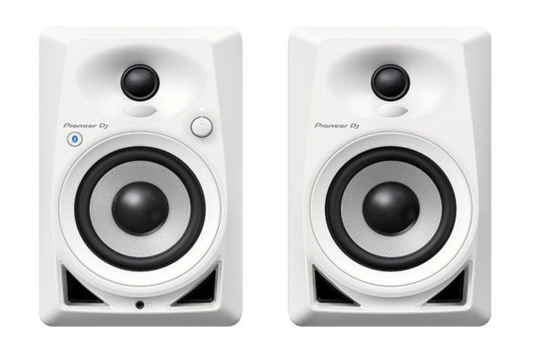 Pioneer DJ DM-40BT Desktop Monitor Speakers With Bluetooth White