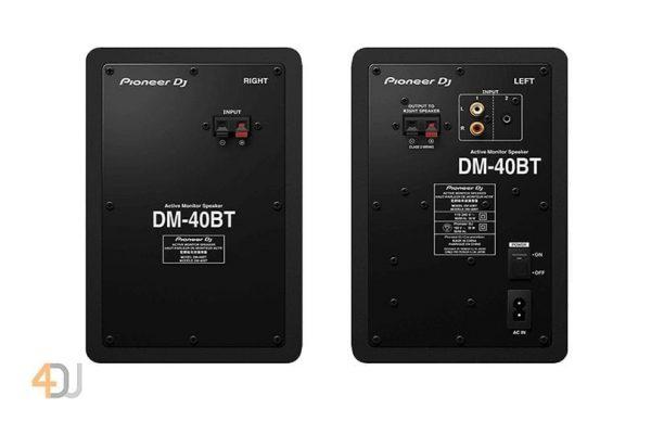 Pioneer DJ DM-40BT Desktop Monitor Speakers With Bluetooth Black