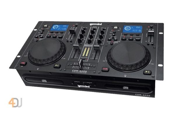 Gemini CDM4000 CD MP3/USB/DJ Media Player