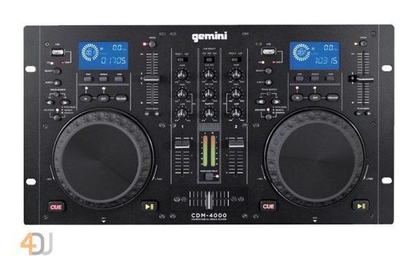 Gemini CDM4000 CD MP3/USB/DJ Media Player