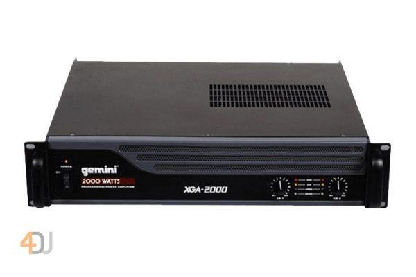 Gemini XGA-2000 Bridgeable PA Amplifier with Limiter