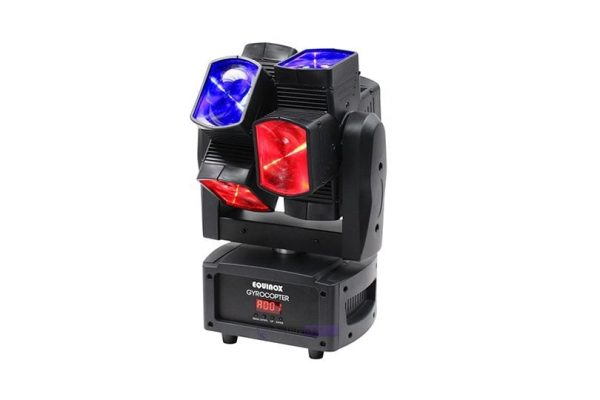 Equinox Gyrocopter Moving Head Twin LED Beam