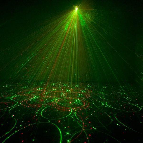 ADJ Mini Dekker LZR LED Derby Effect with Laser