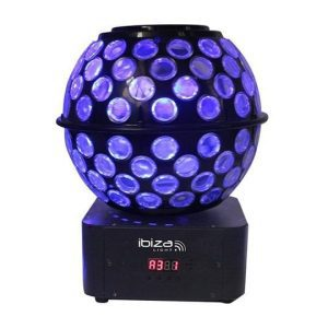 Ibiza Light STARBALL-GB Dual Lighting Effect with GOBOs