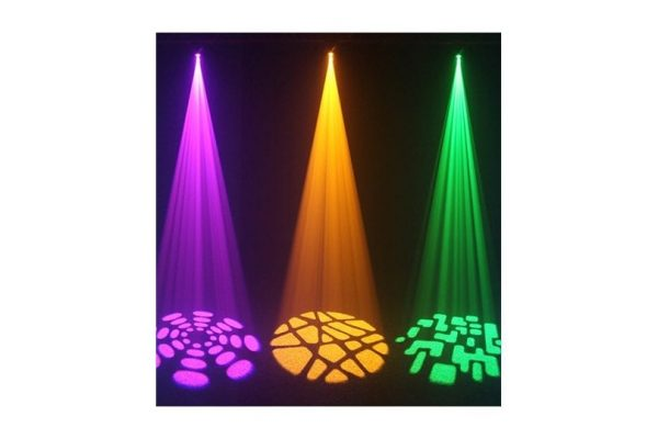 Equinox Fusion Scan MAX 30W LED 7 static Colours & Gobos